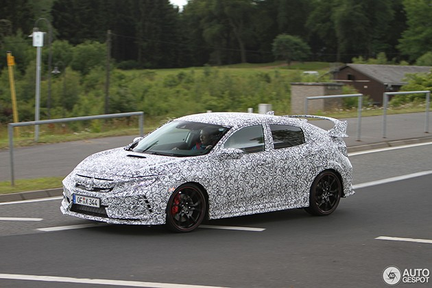 FC2R终于现身!Honda Civic Type R 2018现身纽柏林赛道!(内附影片)