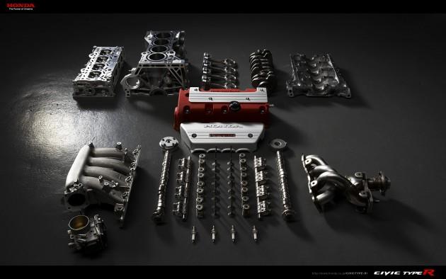 经典引擎回顾:Honda K20A,Type R家族的最佳拍档!