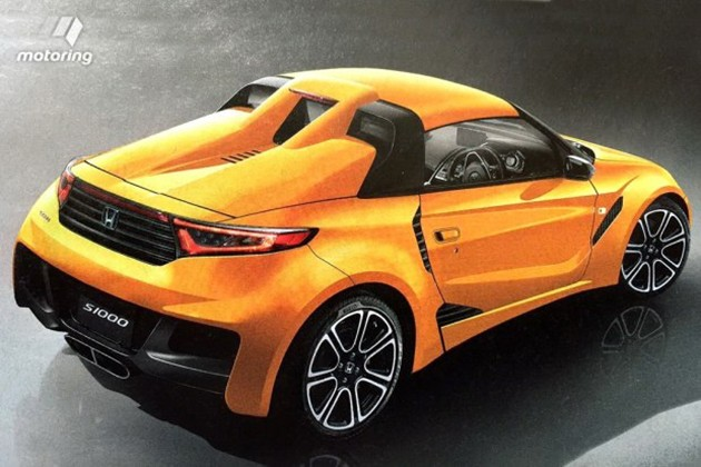 打造平民跑车!传Honda将推出S1000车型!