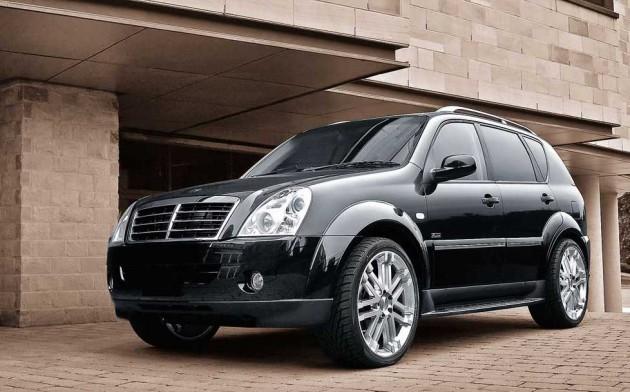 风格大变!SSangyong计划推出全新的Rexton车型!