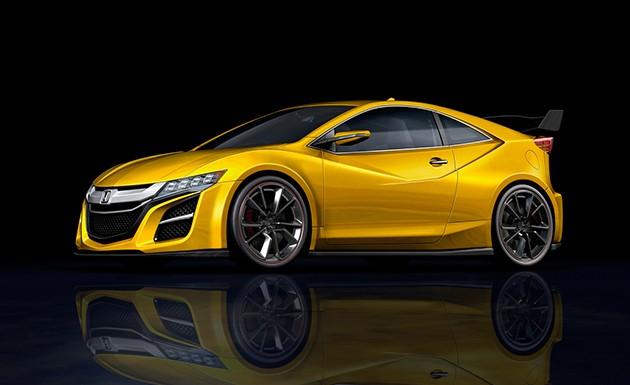 走向纯种跑车之路?网传下一代Honda CR-Z会采用2.0L涡轮引擎!