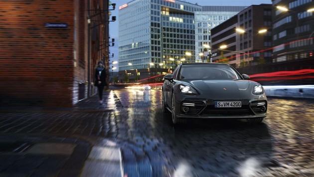奢华轿跑风!Porsche Panamera 2017于德国全球首发!