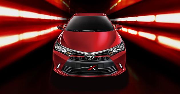 Toyota Corolla Altis X即将在国际市场上市?