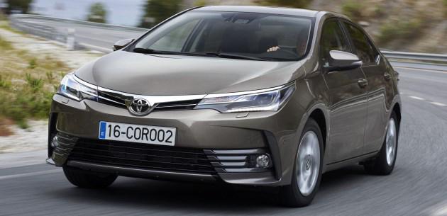 Toyota公布Toyota Corolla Altis 2017细节!