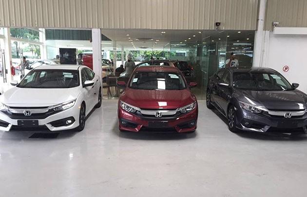 Honda Civic FC正式入驻展示厅!