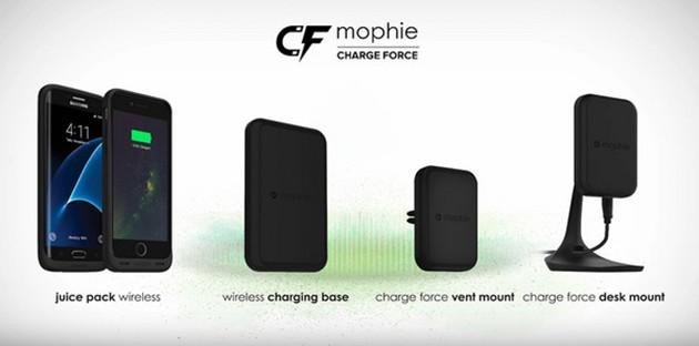 Mophie推出 iPhone 轻便实用还能被吸住无线充电的电池壳!