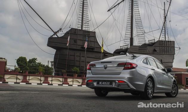 Proton Perdana首次长途试驾!
