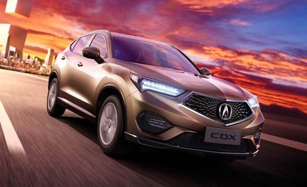 搭载1.5L VTEC Turbo!Acura CDX即将在中国市场开售!