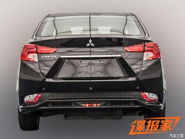 大改款Mitsubishi Lancer真面目曝光!
