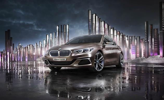 主打年轻市场!BMW 1 Series Sedan官方图发布!