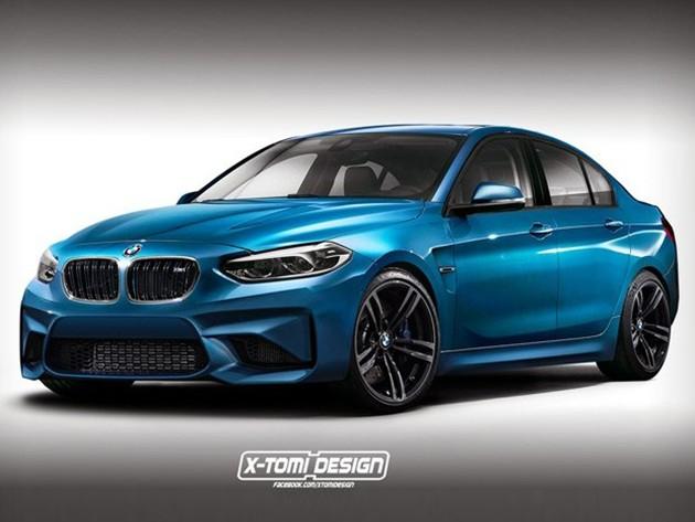 挑战最速前驱车?BMW M1假想图现身!