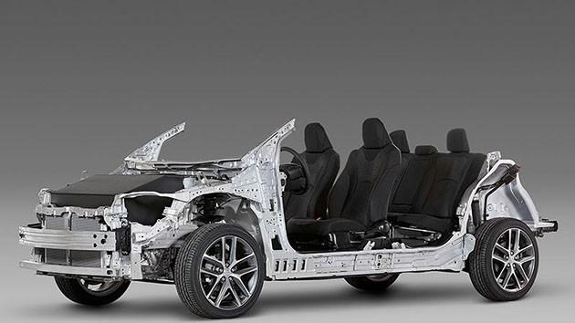 Toyota Camry 2017谍照曝光!