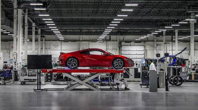 东瀛法拉利的故乡!带你去看Honda Acura的生产基地!(内附影片)
