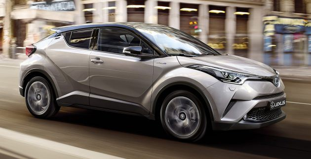 Lexus全新SUV UX将基于Toyota C-HR打造?