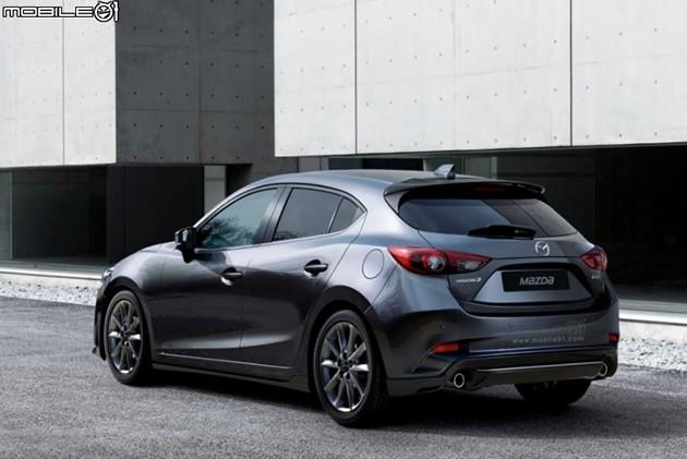Mazda3小改款定妆照遭曝光!