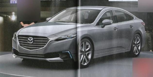 全新Mazda6假想图