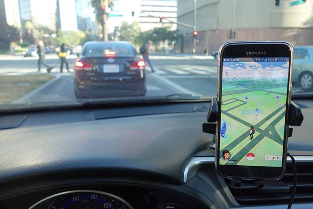 Pokemon Go!居然导致车祸率增加!