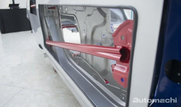 安全大跃进!Perodua Bezza骨架大剖析!
