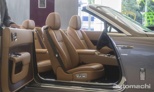 400万的黎明女神!Rolls-Royce Dawn正式登陆我国!