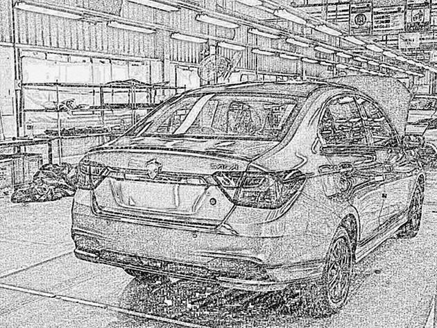全新Proton Saga 2016清晰谍照出现!