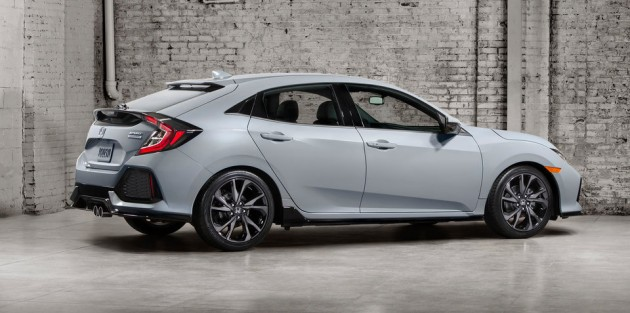 Honda正式放出全新Civic FC Hatc