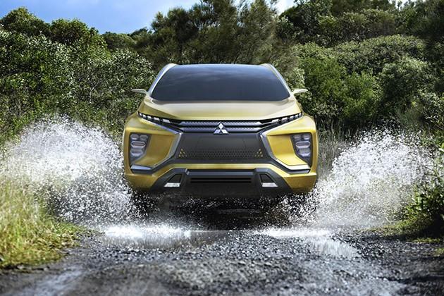 2017年投产!Mitsubishi推出XM concept概念车!