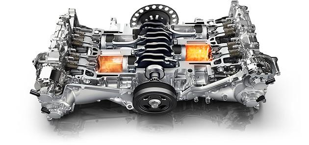 经典引擎回顾:Subaru EJ20水平对卧引擎!