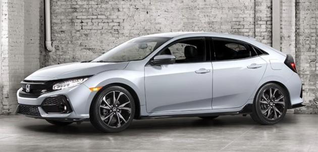 Honda正式放出全新Civic FC Hatch官方图!