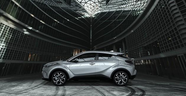 无法比拟的动感!Toyota C-HR最新官方图现身!