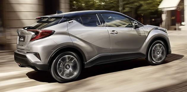 Toyota的进化!带你去看CH-R的跃进!