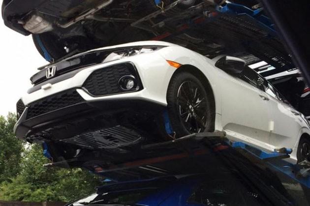掀背更帅气!Honda Civic FC五门量产版现身!