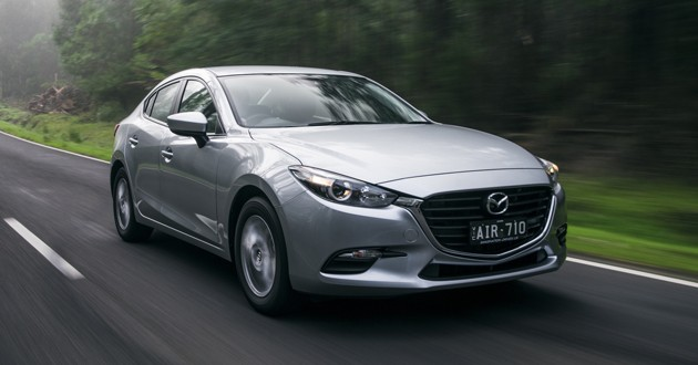 Mazda3小改款现身澳洲市场!只有Skyactiv-G引擎供选择!