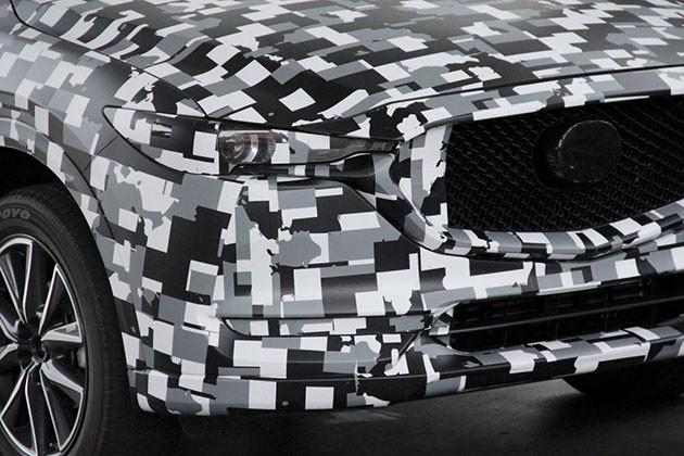 次世代的魂动!第二代Mazda CX-5测试车现身美国南加州!