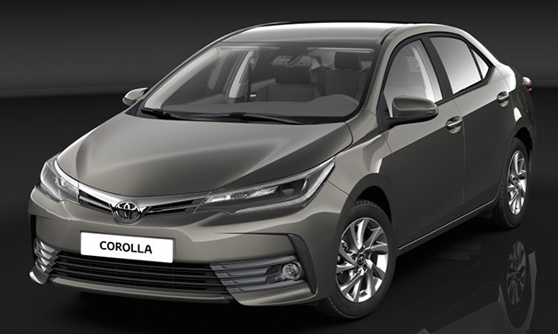 正面叫嚣Mazda3!全新Toyota Corolla步入开发阶段!