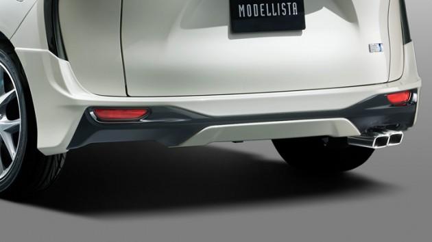 Modellista Aero Kit上身!Toyota Sienta帅气爆表!