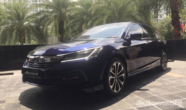 Honda Accord小改款马来西亚首秀!