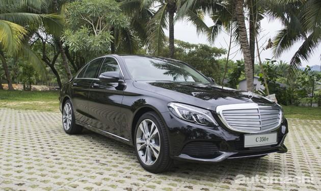 Mercedes-Benz C350e登场!预售价为29万9千令吉!