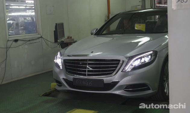 带你去看Mercedes-Benz在马来西亚的生产过程!