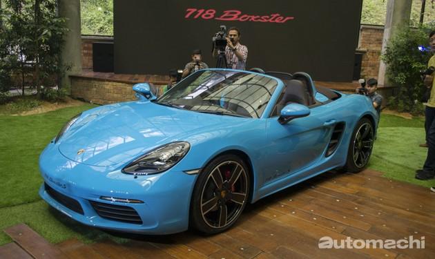 经典回归!Porsche 718 Boxster正式登陆我国!