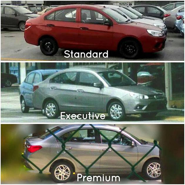 2016 Proton Saga内装正式曝光!