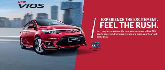 官方释出 2016 Toyota Vios 升级版价格,RM 76,500起跳!