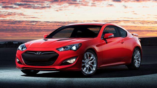 Hyundai的Genesis Coupe采用了8速的自排变速箱