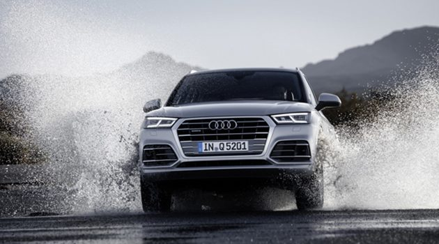2017 Audi Q5 正式现身巴黎车展!