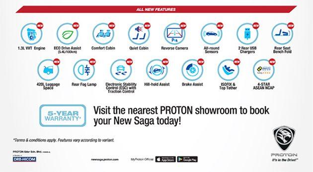2016 Proton Saga正式开放预订!