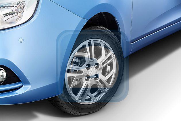 图为顶级款Saga轮圈设计