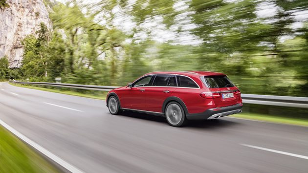 跨界的E-Class!Mercedes-Benz E Class All-Terrain官方图发布!