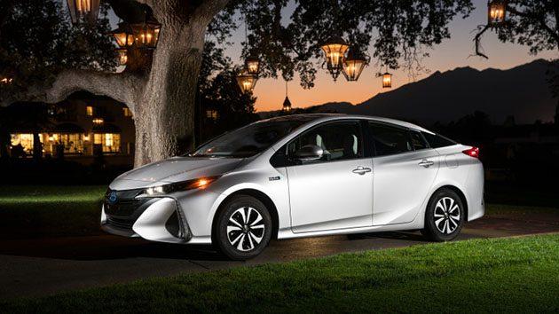 Toyota Prius Prime 将配备11.6寸超大荧幕!