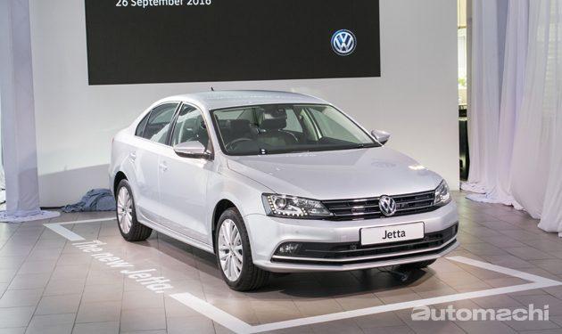 Volkswagen Jetta Facelift 正式登场!价格从RM 108,990起跳!