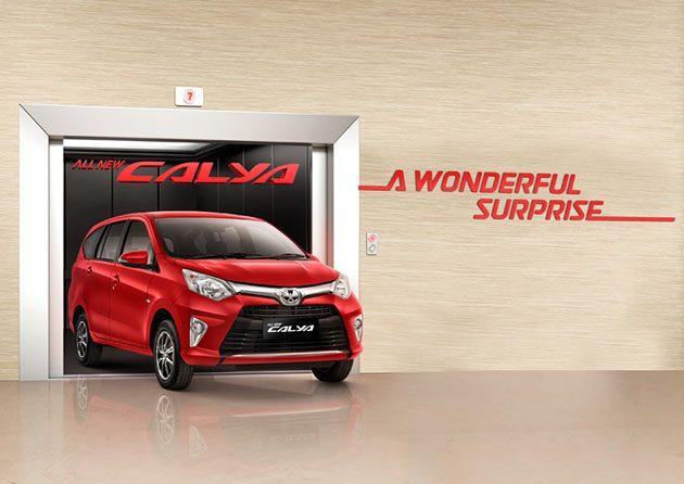 Toyota Calya是Toyota专门为印尼市场打造的车型。