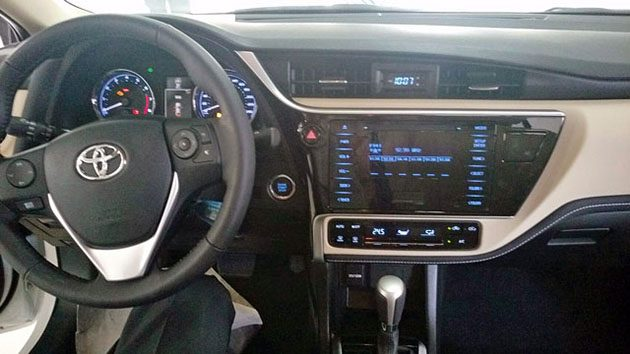 台湾版Toyota Corolla Altis小改款现身!全线配置VSC!